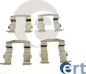 ERT 420339 - Piederumu komplekts, Disku bremžu uzlikas interparts.lv