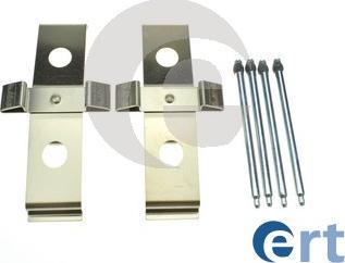 ERT 420330 - Piederumu komplekts, Disku bremžu uzlikas interparts.lv