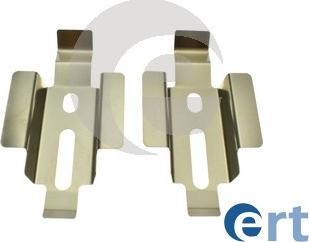 ERT 420333 - Piederumu komplekts, Disku bremžu uzlikas interparts.lv