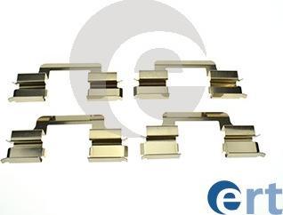 ERT 420332 - Piederumu komplekts, Disku bremžu uzlikas interparts.lv