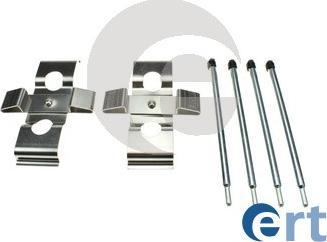 ERT 420326 - Piederumu komplekts, Disku bremžu uzlikas interparts.lv