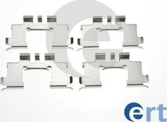 ERT 420320 - Piederumu komplekts, Disku bremžu uzlikas interparts.lv
