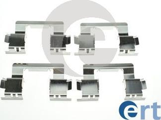 ERT 420293 - Piederumu komplekts, Disku bremžu uzlikas interparts.lv