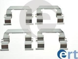ERT 420244 - Piederumu komplekts, Disku bremžu uzlikas interparts.lv