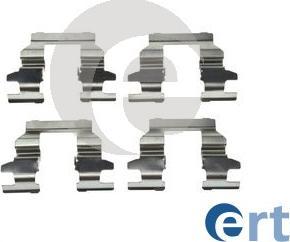 ERT 420246 - Piederumu komplekts, Disku bremžu uzlikas interparts.lv