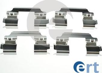 ERT 420241 - Piederumu komplekts, Disku bremžu uzlikas interparts.lv