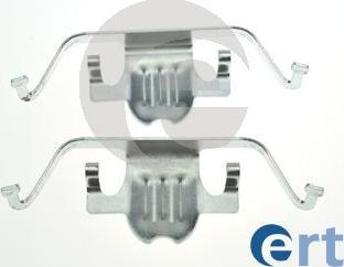 ERT 420255 - Piederumu komplekts, Disku bremžu uzlikas interparts.lv