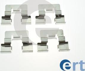 ERT 420252 - Piederumu komplekts, Disku bremžu uzlikas interparts.lv