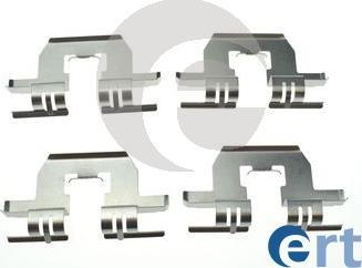 ERT 420264 - Piederumu komplekts, Disku bremžu uzlikas interparts.lv