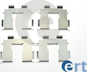 ERT 420268 - Piederumu komplekts, Disku bremžu uzlikas interparts.lv