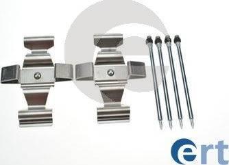 ERT 420267 - Piederumu komplekts, Disku bremžu uzlikas interparts.lv