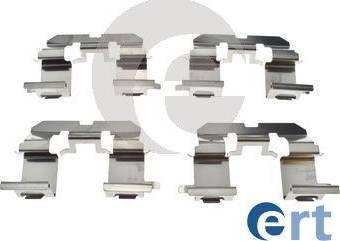 ERT 420209 - Piederumu komplekts, Disku bremžu uzlikas interparts.lv