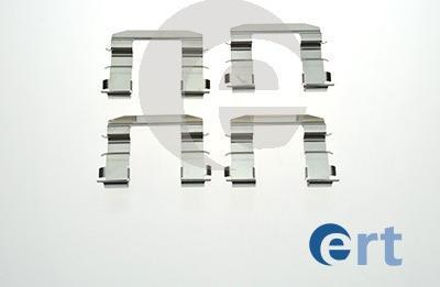 ERT 420205 - Piederumu komplekts, Disku bremžu uzlikas interparts.lv
