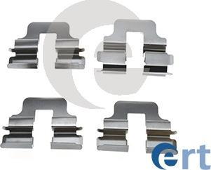 ERT 420203 - Piederumu komplekts, Disku bremžu uzlikas interparts.lv