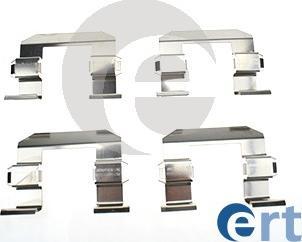 ERT 420207 - Piederumu komplekts, Disku bremžu uzlikas interparts.lv