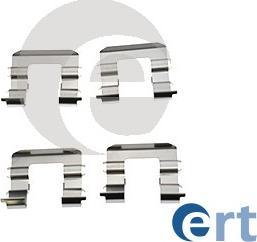 ERT 420216 - Piederumu komplekts, Disku bremžu uzlikas interparts.lv