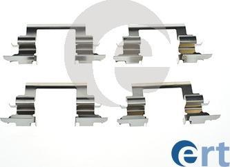 ERT 420218 - Piederumu komplekts, Disku bremžu uzlikas interparts.lv