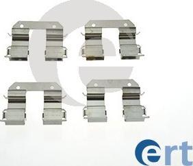 ERT 420212 - Piederumu komplekts, Disku bremžu uzlikas interparts.lv