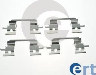 ERT 420289 - Piederumu komplekts, Disku bremžu uzlikas interparts.lv