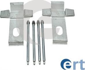 ERT 420284 - Piederumu komplekts, Disku bremžu uzlikas interparts.lv