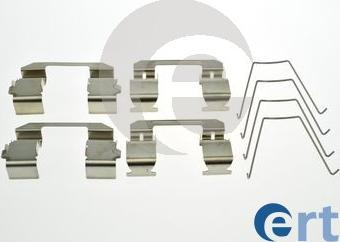 ERT 420286 - Piederumu komplekts, Disku bremžu uzlikas interparts.lv