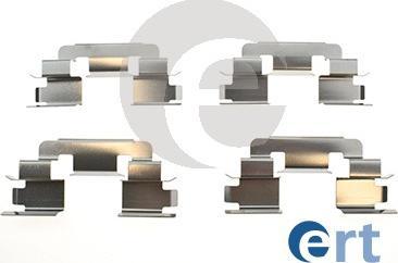 ERT 420281 - Piederumu komplekts, Disku bremžu uzlikas interparts.lv