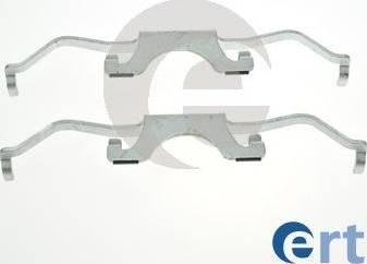 ERT 420288 - Piederumu komplekts, Disku bremžu uzlikas interparts.lv