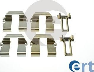 ERT 420287 - Piederumu komplekts, Disku bremžu uzlikas interparts.lv