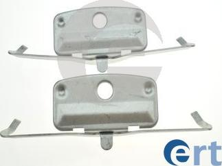 ERT 420235 - Piederumu komplekts, Disku bremžu uzlikas interparts.lv