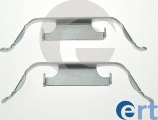 ERT 420236 - Piederumu komplekts, Disku bremžu uzlikas interparts.lv