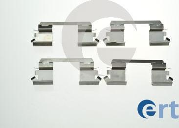 ERT 420220 - Piederumu komplekts, Disku bremžu uzlikas interparts.lv