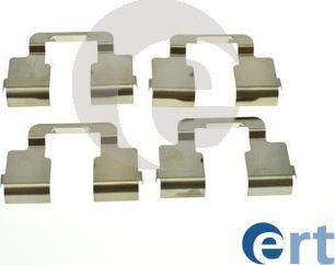 ERT 420278 - Piederumu komplekts, Disku bremžu uzlikas interparts.lv