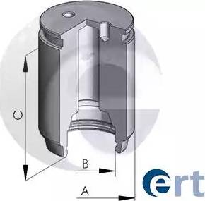 ERT 150265-C - Virzulis, Bremžu suports interparts.lv