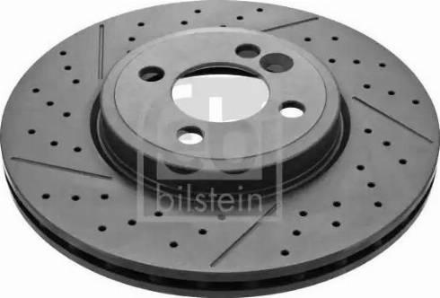 Febi Bilstein 43954 - Bremžu diski interparts.lv