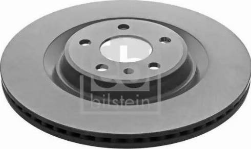 Febi Bilstein 43985 - Bremžu diski interparts.lv
