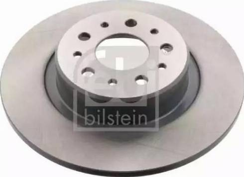 Febi Bilstein 43850 - Bremžu diski interparts.lv