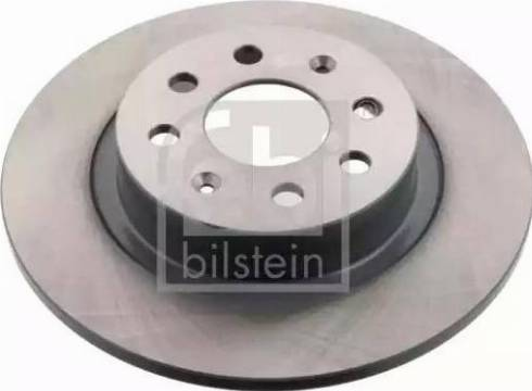 Febi Bilstein 43837 - Bremžu diski interparts.lv