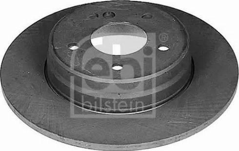 Febi Bilstein 04628 - Bremžu diski interparts.lv