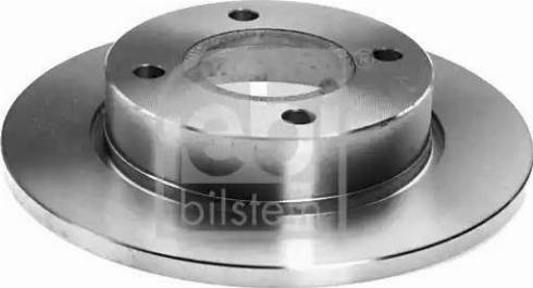 Febi Bilstein 05650 - Bremžu diski interparts.lv