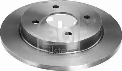 Febi Bilstein 05652 - Bremžu diski interparts.lv
