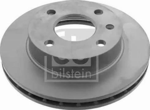 Febi Bilstein 03167 - Bremžu diski interparts.lv