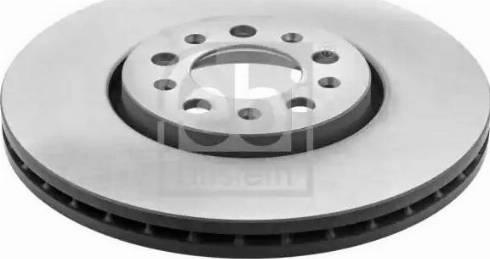 Febi Bilstein 19370 - Bremžu diski interparts.lv