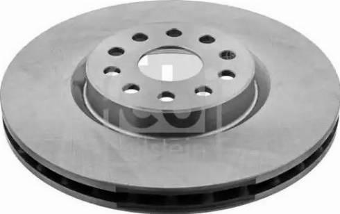 Febi Bilstein 14165 - Bremžu diski interparts.lv