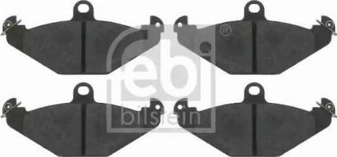 Febi Bilstein 16403 - Bremžu uzliku kompl., Disku bremzes interparts.lv