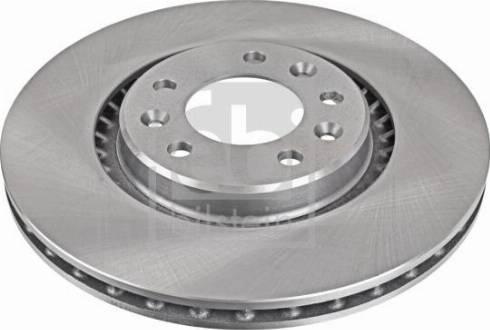 Febi Bilstein 104170 - Bremžu diski interparts.lv