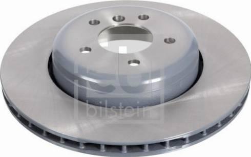 Febi Bilstein 104807 - Bremžu diski interparts.lv