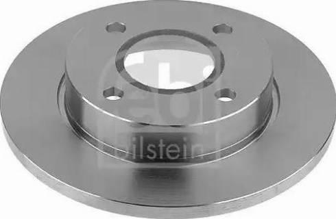 Febi Bilstein 10518 - Bremžu diski interparts.lv