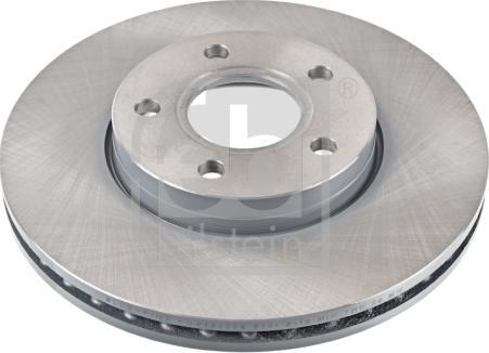 Febi Bilstein 105718 - Bremžu diski interparts.lv