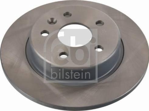Febi Bilstein 106490 - Bremžu diski interparts.lv