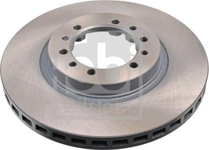 Febi Bilstein 108415 - Bremžu diski interparts.lv